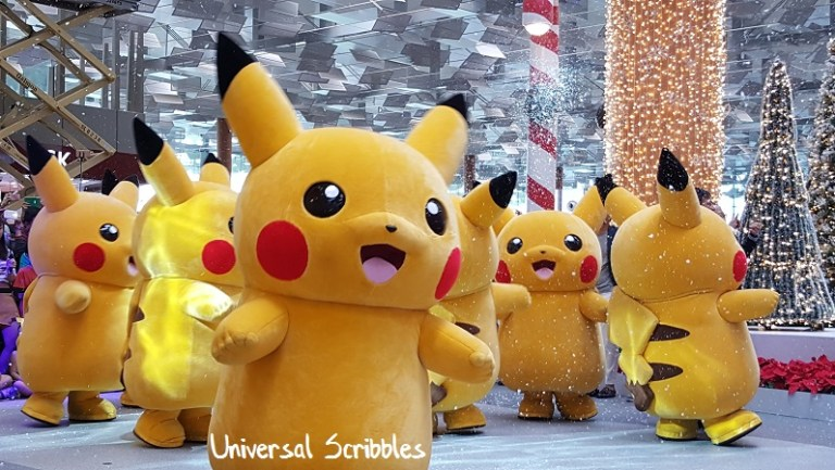 Pokemon Holiday Season at Changi Airport: The Arrival of Pikachu