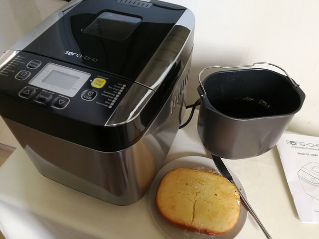 Making Fresh Bread Everyday – Review of Songcho Breadmaker