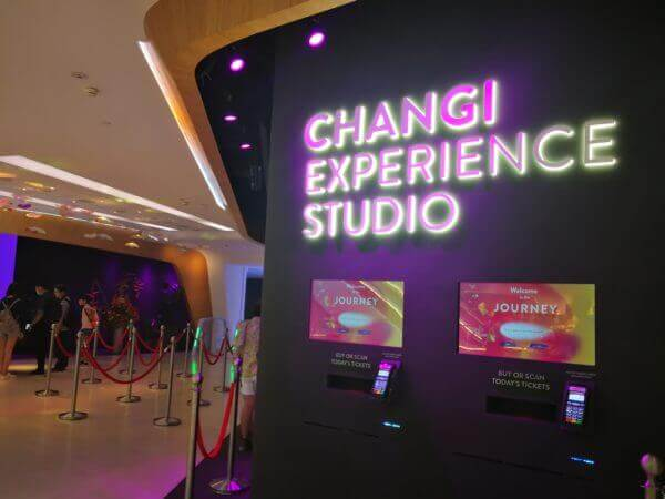 Changi Experience Studio at  Jewel Changi Airport (Review)