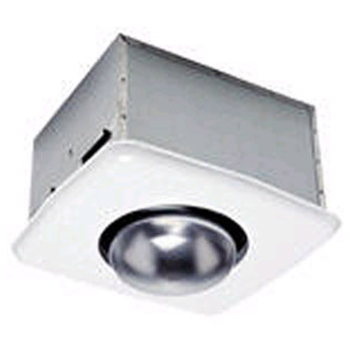 usi electric bath exhaust fan with custom designed motor and heat bulb attachment 70 cfm bf 704hb
