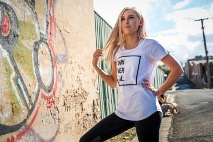 womens white t-shirt