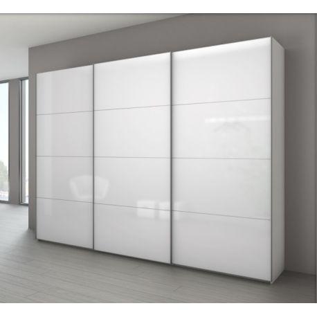 armoire marcato 6 a 3 portes coulissantes