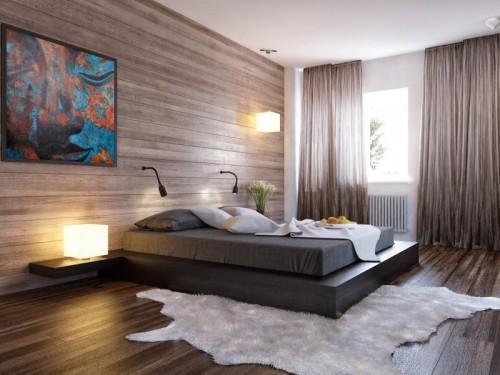 اشكال من ورق الجدران لغرف النوم ماجيك بوكس