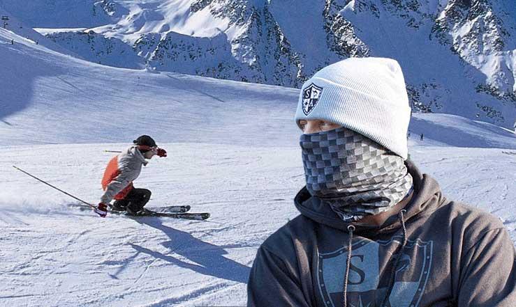 Кърпа за Глава Бандана Ски Скейборд Спорт