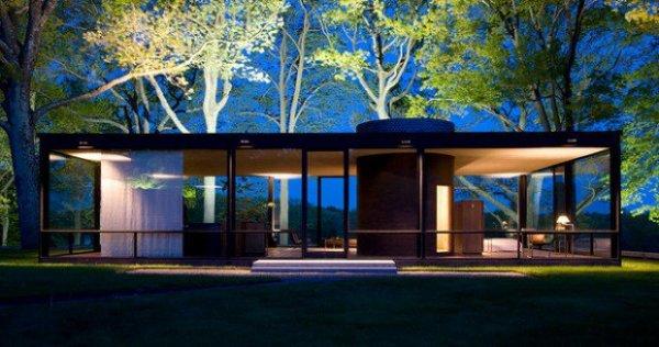modern glass home plans