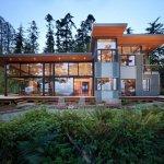 fancy glass home