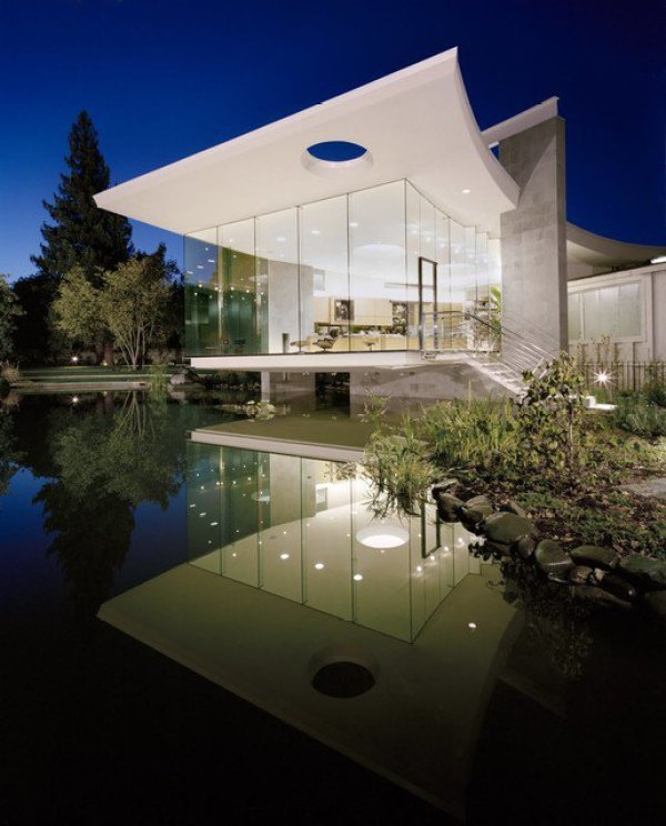 how to design a glass house