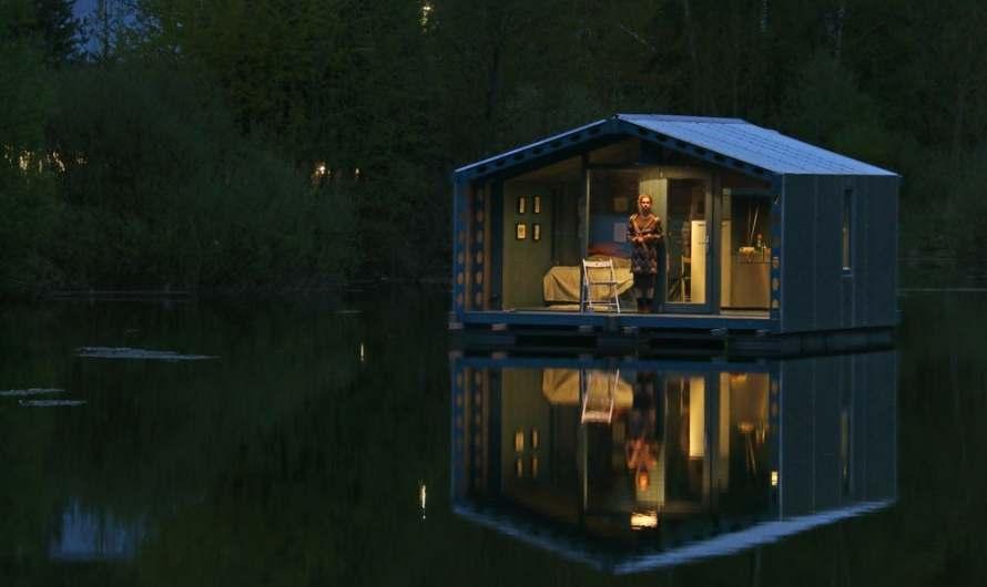 Off-Grid Floating Bio Architect Cabin DD16