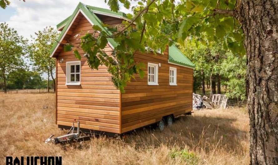French firm Baluchon unveiled tiny house La Boheme