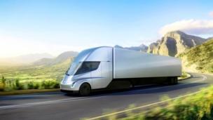 Tesla E Truck