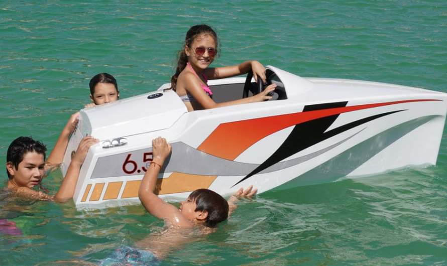 JimBoat relaunches Electric Powerboat for Kids