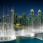 water fountain show dubai