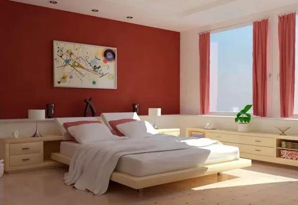 احدث الوان حوائط غرف نوم مودرن بالصور سحر الكون