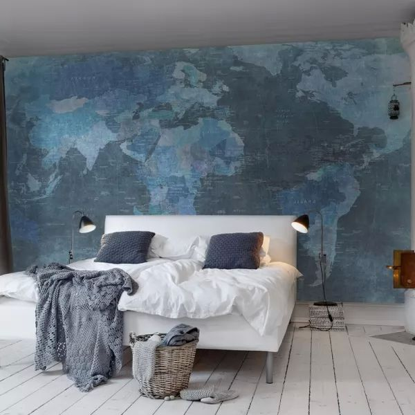 ديكورات ورق حائط غرف نوم مودرن بالصور منتدى الفرح المسيحى