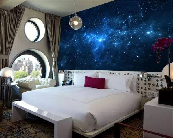 أحدث ديكورات ورق حائط غرف نوم مودرن بالصور سحر الكون