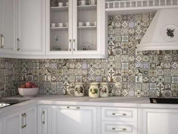 ألوان بلاط المطبخ