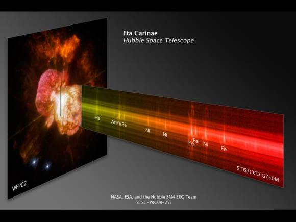 Проширувањето на експлозијата на Хабловата ѕвезда откриена преку нови анимации