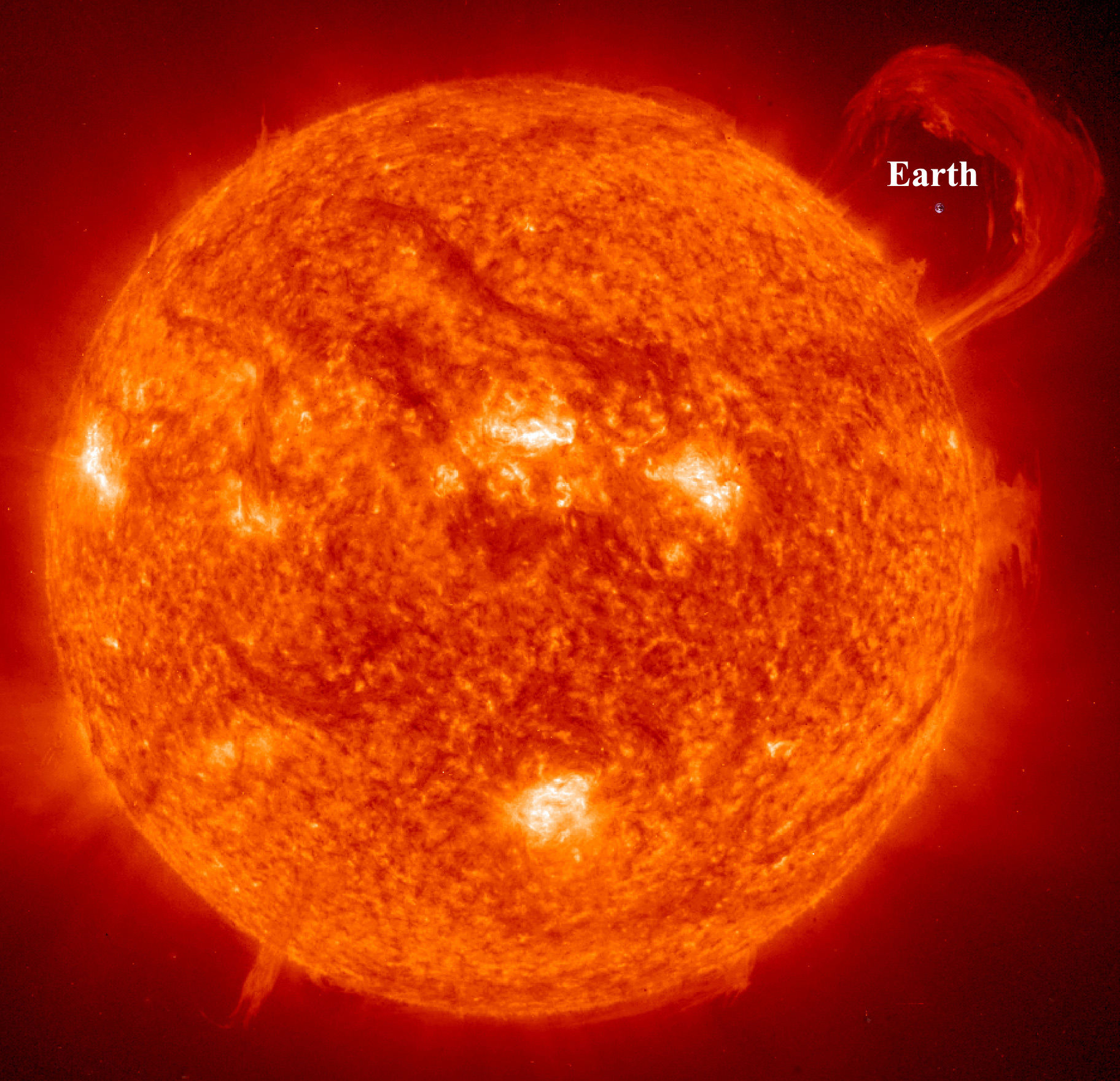 How Many Earths Can Fit In The Sun