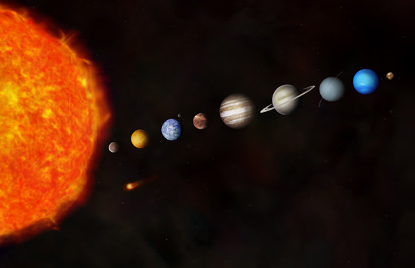 solar system planets in order of distance from sun - photo #8