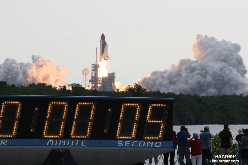 Iconic Kennedy Space Center Countdown Clock Retires