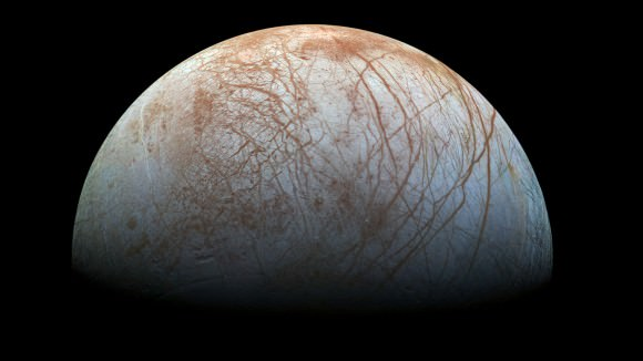 Icy worlds like Europa could host life.