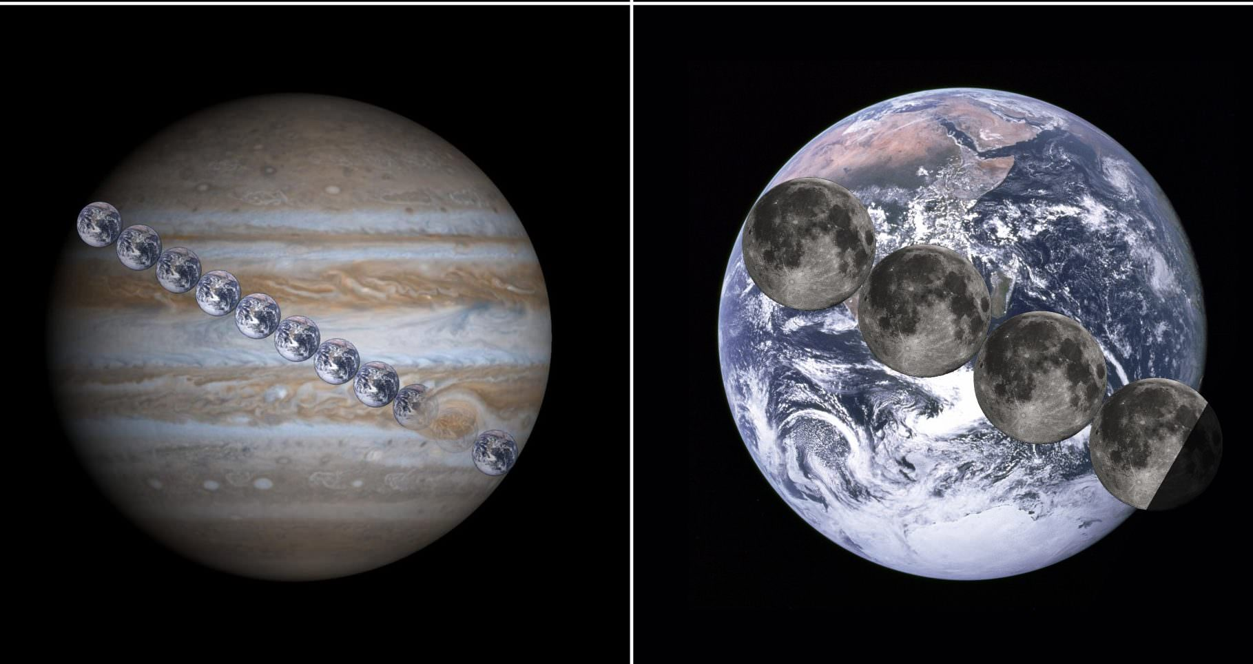 How Many Earths Can Fit In Jupiter