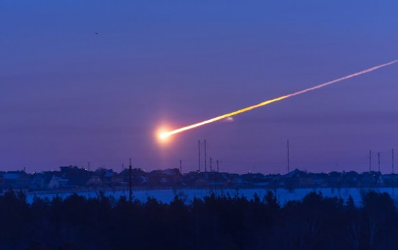 Picture of the asteroid that exploded over Cherlyabinsk on Feb 15, 2013. Credit: Tuvix/Youtube