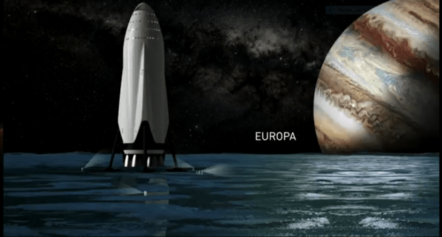 SpaceX's newly revealed Interplanetary Transit System will make travel to Mars, and other destinations in our Solar System, possible. Or so they claim. Image: SpaceX