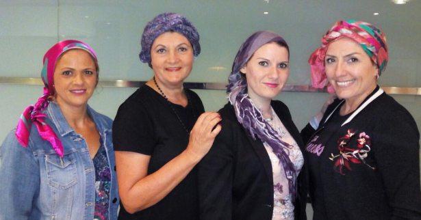 pañuelos y turbantes cancer