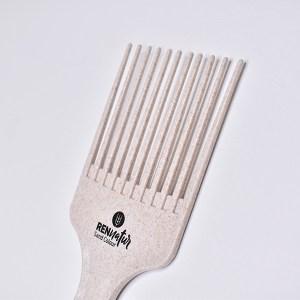 Peine ahuecador especial método curly cabellos rizados y ondulados