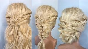 Técnica recogido entrelazado curso peluquería online