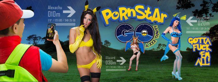 Pokémon Go PornStar Go Adolecente Faz Sexo Com 3 Cosplay De-Pokémon