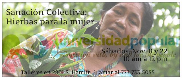 Sanación Colectiva: Hierbas para la Mujer