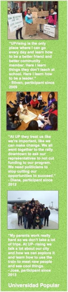 UPrising Support testimonials