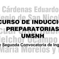 Cursos de Inducción a las Preparatorias de la Universidad Michoacana de San Nicolás de Hidalgo