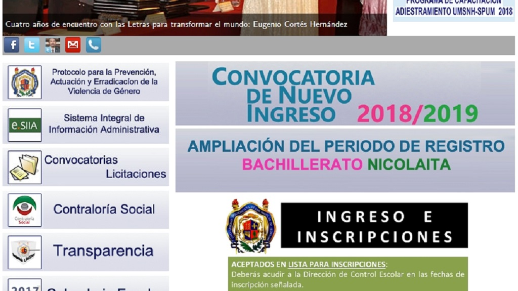 Oficial: Habrá segunda convocatoria para ingreso a preparatorias en la UMSNH