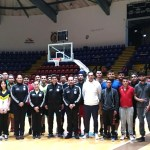 Inicio de entrenamiento de selección de baloncesto 2