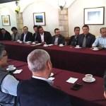 reunión de directores con nuevas autoridades universitarias 2