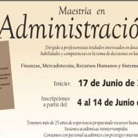 La FCCA - UMSNH convoca a profesionistas a ingresar a la Maestría en Administración