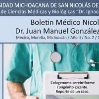 En Línea el Boletín Médico Nicolaita de la Facultad de Medicina de la UMSNH