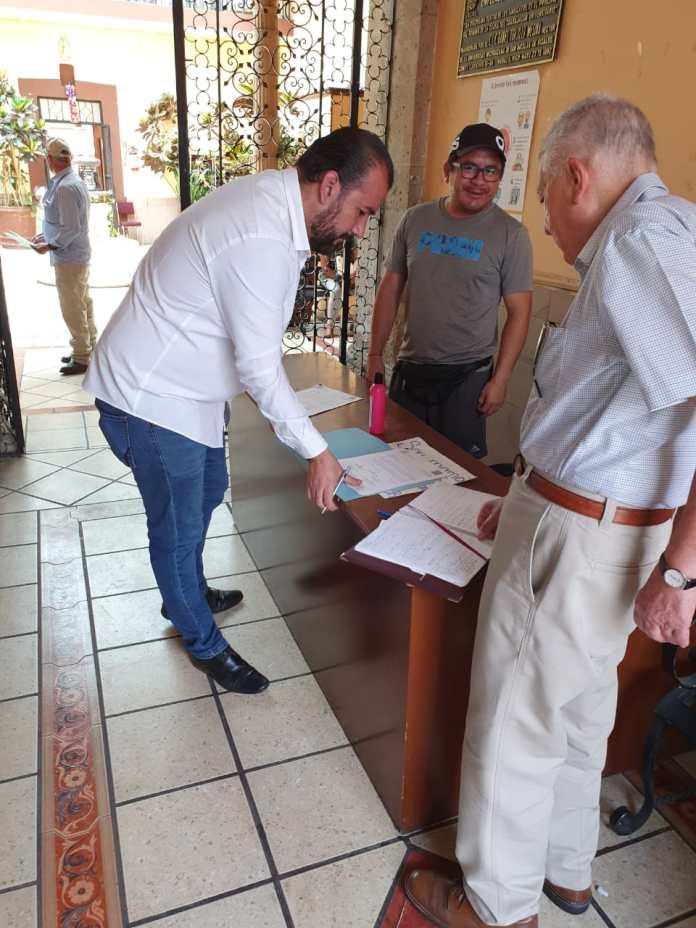 Notificación por conducto del notario público No. 25, Lic. Salvador Hernández Mora, de las nuevas 107 inconsistencias al último padrón del SUEUM.