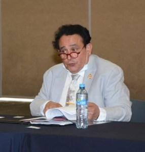 """Dr. Arturo Valencia Ortíz, Director de la Facultad de Ciencias Médicas y Biológicas """"Dr. Ignacio Chávez"""""""