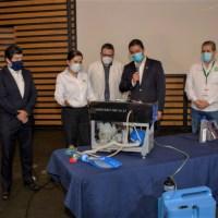 Entrega la UMSNH al IMSS el prototipo de Respirador Mecánico hecho por Investigadores Nicolaitas