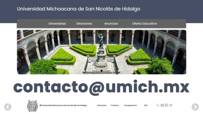 La UMSNH pondrá su capacidad en tecnologías de información para crear la comunidad de egresados universitarios, más grande del estado de Michoacán