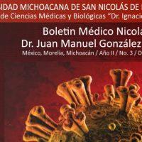 """Listo el Boletín Médico Nicolaita """"Dr. Juan Manuel González Urueña"""" en su edición de diciembre del 2020"""