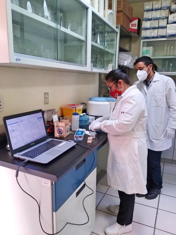 Realiza la UMSNH las pruebas finales a su biosensor de detección rápida del COVID-19