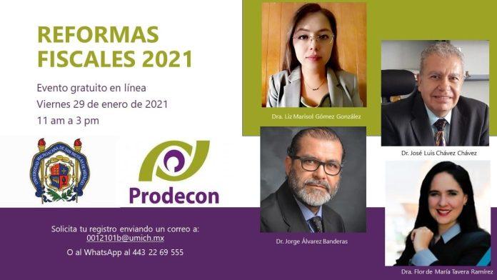 Curso de Reformas Fiscales 2021 - FCCA UMSNH - PRODECON