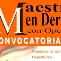La Facultad de Derecho de la Universidad Michoacana convoca su maestría en derecho