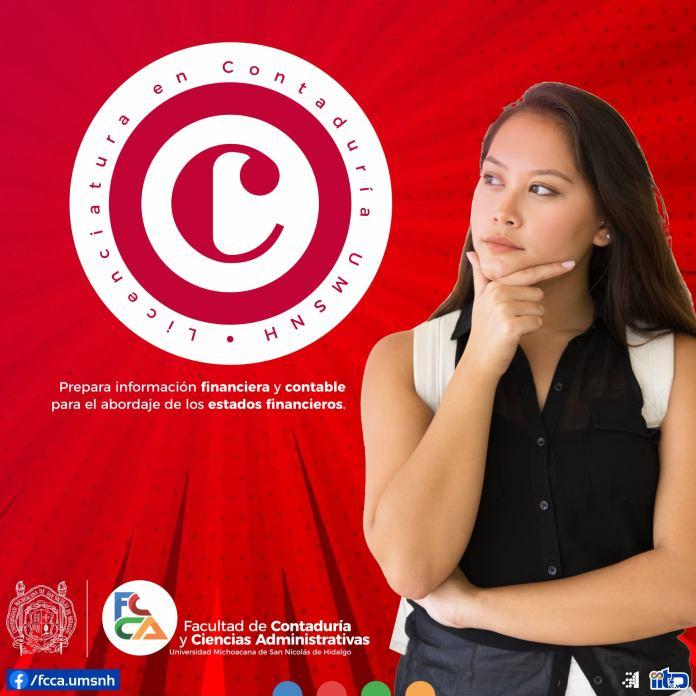 Licenciatura en contaduría   FCCA - UMSNH