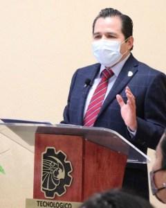 José Luis Gil Vázquez, director del TecNM campus Morelia.
